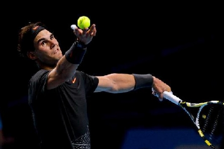 Nadal fights hard to beat Fish at ATP Finals