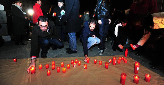 Madrid lights up World AIDS Day