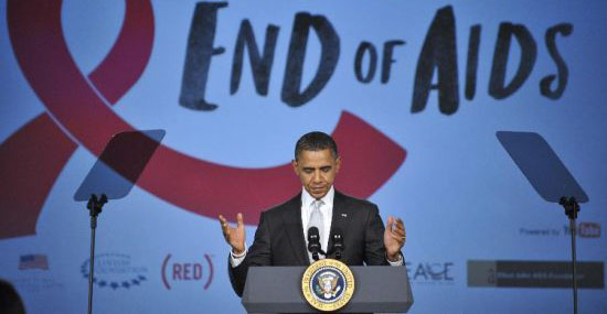 Obama to add $50 million dollars for AIDS fight