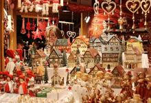 Christmas fair in Italy
