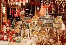 Christmas fair in Italy