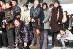 Pyongyang stricken with grief