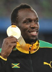 1. Usain Bolt.