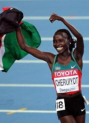 10.  Vivian Cheruiyot.