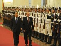 Russian PM Putin visits China