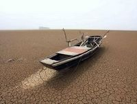 Severe drought hits China