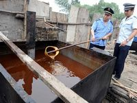Crackdown on gutter oil
