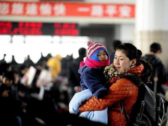 Spring Festival travel peak 2011