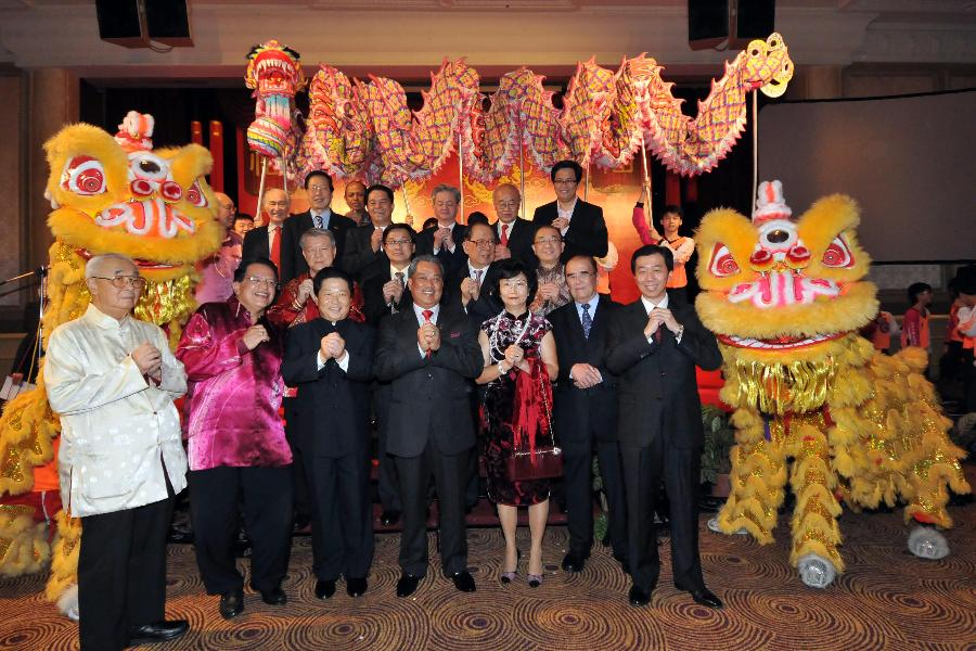 Receptions held to celebrate upcoming Chinese Lunar New Year