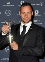 Oscar PistoriusWorld Sportsperson of the Year with a Disability