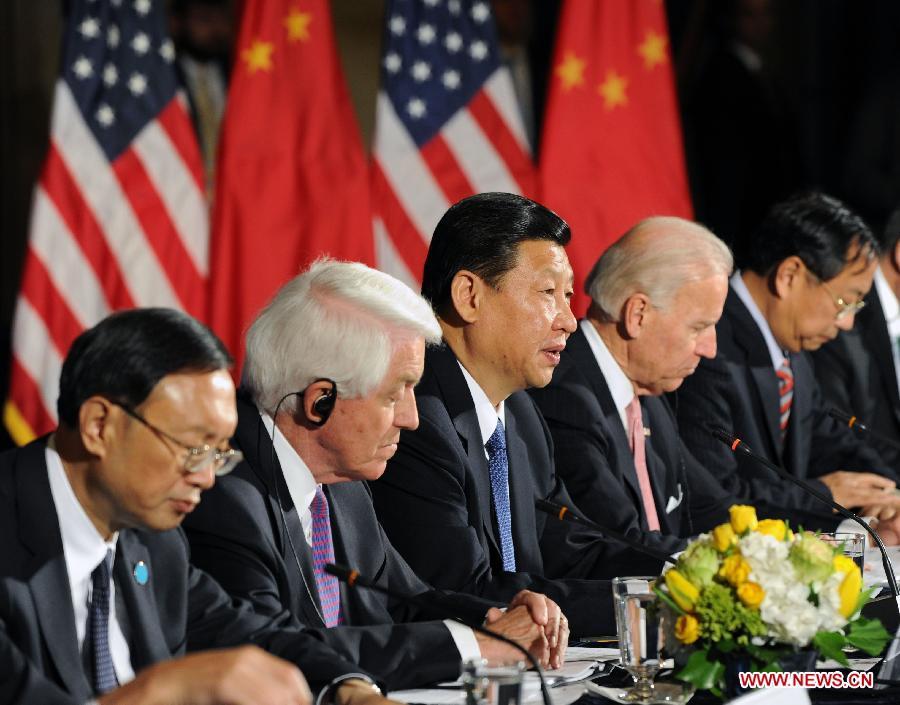 Chinese VP Xi meets U.S. VP Biden