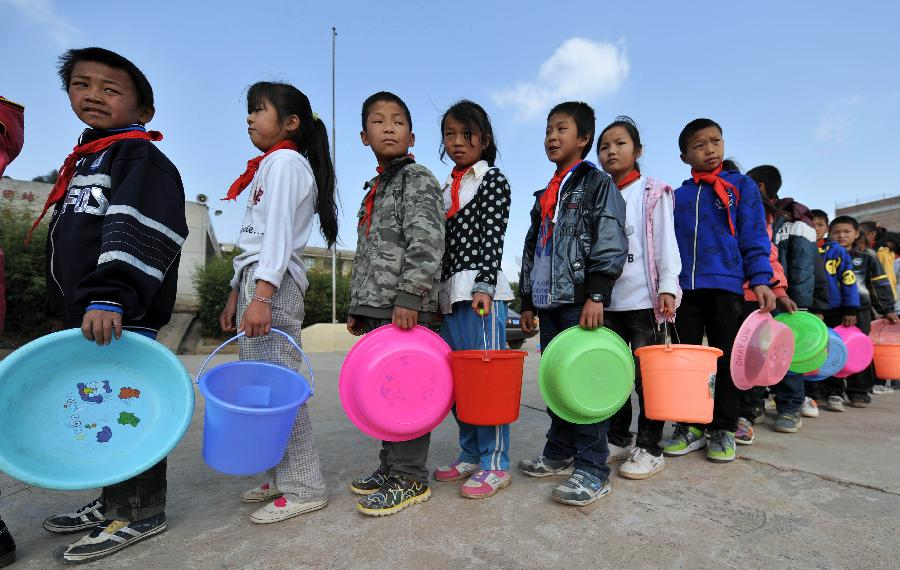 6 mln people suffer from persistent drought in SW China's Yunnan