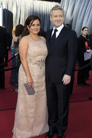 Kenneth Branagha and wife