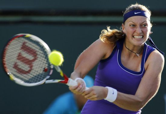 Kvitova dumped out of Indian Wells by US teenager