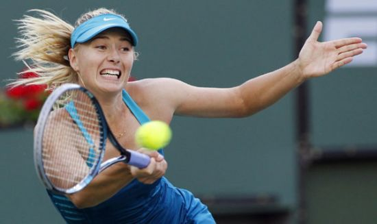 Stosur exits Indian Wells, Sharapova advances