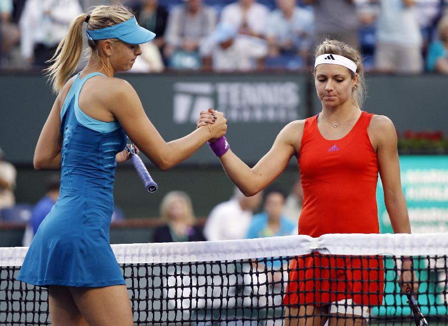 Sharapova advances to semi-finals at Indian Wells