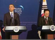 President Obama and President Lee hold a news conference