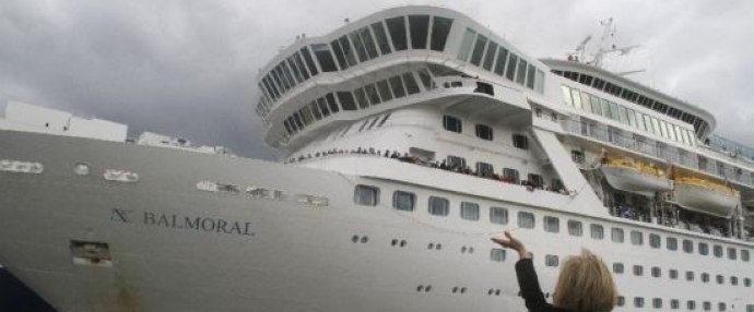 Titanic Memorial Cruise ship sets sail in Britain