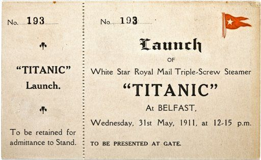 Ticket to Titanic maiden voyage sold at NY auction