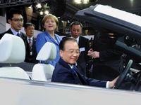 Wen visits Volkswagen  headquarters