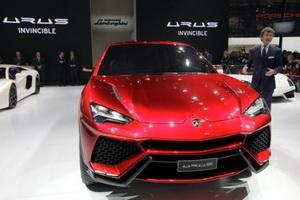 Lamborghini Urus unveiled