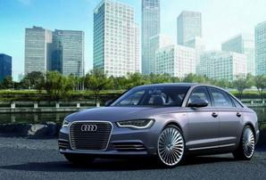 Audi A6 L e-tron concept revealed