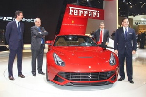 Ferrari Beijing Auto Show 2012