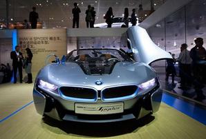 BMW debuts i8 Concept Spyder