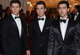 Nick, Joe and Kevin Jonas: 2012 Met Ball Brothers