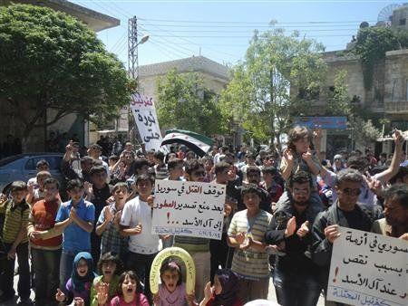 Syria violence rages