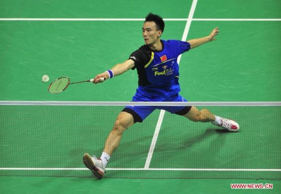 Chinese players compete in Thomas Cup