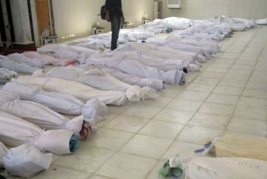 Syria denies responsibility for attack killing 90