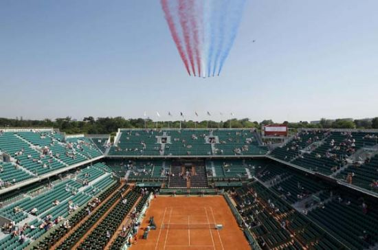 France's Patrol draws the curtain of French Open