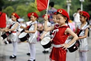 Children enjoy activities on Children's Day