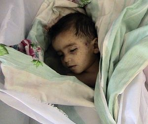 Child died in Houla massacre