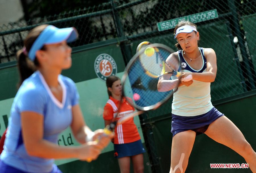 Zheng and Peng win 2-0 to reach the next round at French Open