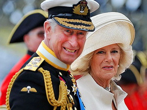 Prince Charles and wife Camilla stopped by one of the thousands of Jubilee street parties.