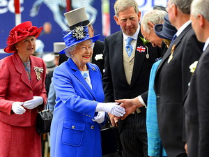 Queen Elizabeth II kicked off her Jubilee celebration with the Epsom Derby.