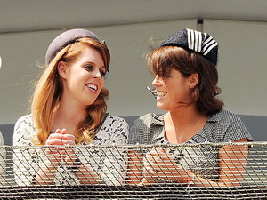Princesses Beatrice and Eugenie joined a large royal party.