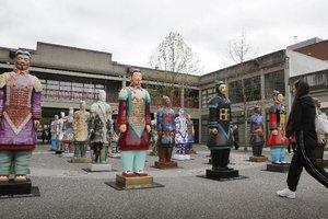 Terracotta warriors exhibited in Vancouver