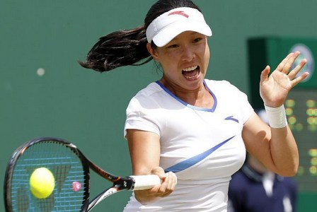 Zheng Jie vs. Stephanie Dubois at Wimbledon Championships
