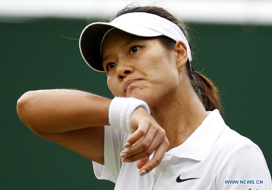 Li Na out at Wimbledon Championships