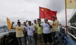 Chinese activists to fly flag for Diaoyu Islands
