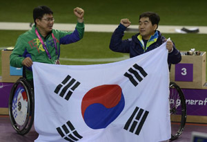 South Korean Park Seakyun wins gold medal