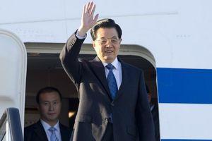President Hu Jintao visits Russia