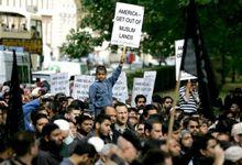 Protest against anti-Islam film in London