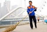 Street sweeper becomes CPC delegate