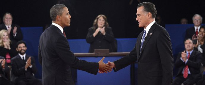 Obama VS Romney at the 2nd debate