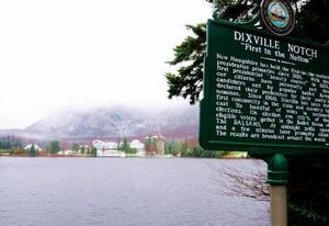 Dixville Notch, a symbolic village of U.S. elections