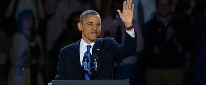 Obama's victory speech after winning reelection